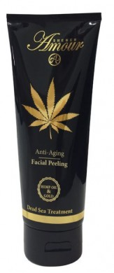 Hemp Oil & Gold Facial Peeling