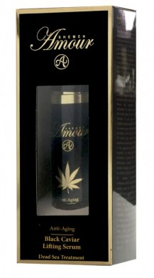Black Caviar Lifting Serum - Hemp Oil & Gold